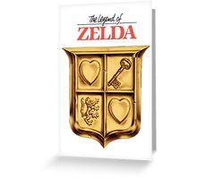Zelda Logo Greeting Card