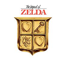 Zelda Logo Photographic Print