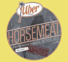 Uber Brand Horsemeat - Weathered with Stamp Baby Tee