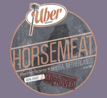 Uber Brand Horsemeat - Weathered with Stamp Kids Tee