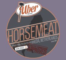 Uber Brand Horsemeat - Plain - with stamp Kids Tee