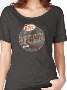 Uber Brand Horsemeat - Plain - with stamp Women's Relaxed Fit T-Shirt