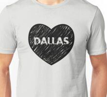 I Love Dallas - I Heart DAL (Urban) Unisex T-Shirt