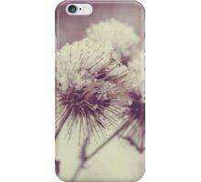 Winter Weeds iPhone Case/Skin