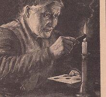Old print 1887 9857 by Krzyzanowski Art