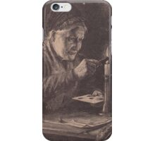 Old print 1887 9857 iPhone Case/Skin