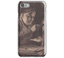 Old print 1887 9857 iPhone Case/Skin