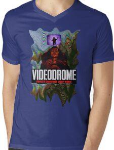Videodrome Mens V-Neck T-Shirt