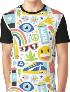 Summer vibes pattern Graphic T-Shirt