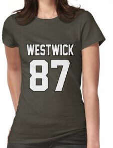 Ed Westwick Womens Fitted T-Shirt