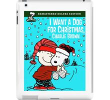 CHARLIE BROWN CHRISTMAS 4 iPad Case/Skin
