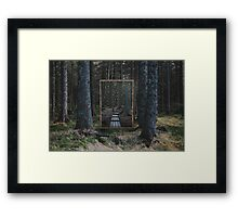 Mirror Of The Soul Framed Print