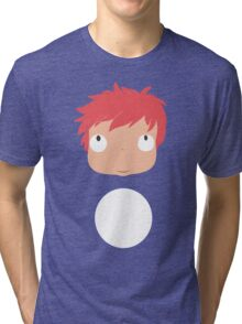 Ponyo likes you! Tri-blend T-Shirt