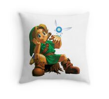 Young Link Throw Pillow