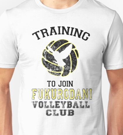 Training to join Fukurodani Volleyball Club Unisex T-Shirt