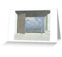 offen Greeting Card
