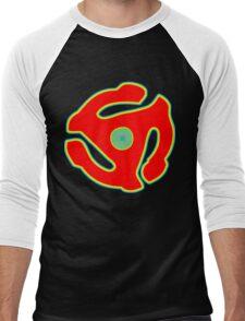 Music 45 Vinyl Holder Turntable Record Men's Baseball ¾ T-Shirt