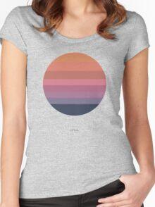 Tycho Awake (Sun) Women's Fitted Scoop T-Shirt