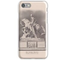 Old print 1887 9860 iPhone Case/Skin