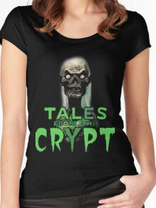 Crypt Keeper Women's Fitted Scoop T-Shirt