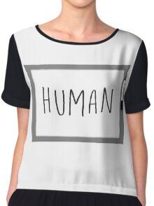HUMAN (Whiteboard) - Arrival Chiffon Top
