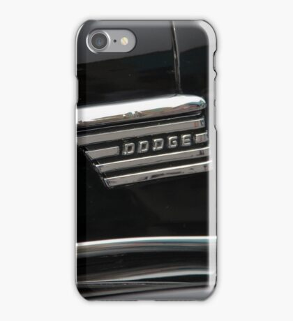 1939 Dodge D11 Luxury Liner Emblem iPhone Case/Skin