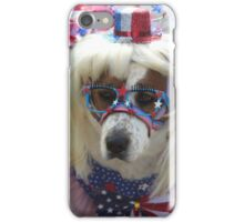 All Dogged up for the Forth  iPhone Case/Skin