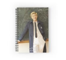 rap monster bts Spiral Notebook