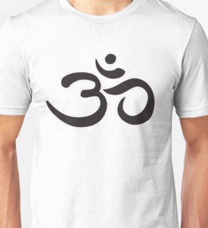 om - black Unisex T-Shirt