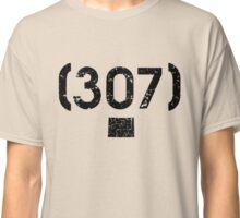 Area Code 307 Wyoming Classic T-Shirt