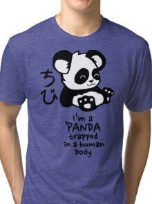 I'm a cute little panda Tri-blend T-Shirt