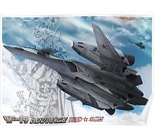 MACROSS PLUS YF-19 ADVANCE Poster