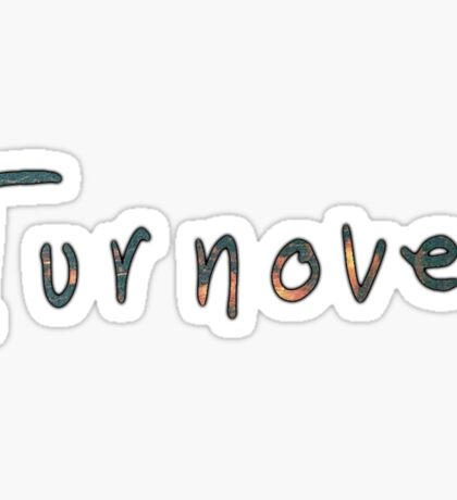 Turnover Text Sticker