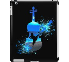 Let The Music Play - Blue iPad Case/Skin