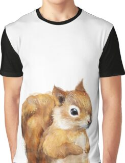 Little Squirrel Graphic T-Shirt