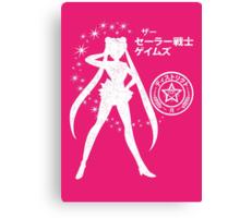The Senshi Games: Moon ALT version Canvas Print