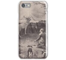 Old print 1887 9863 iPhone Case/Skin