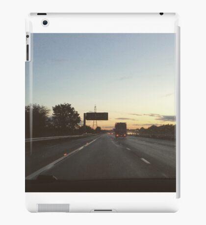 Twilight driving  iPad Case/Skin