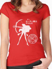 The Senshi Games: Mars ALT version Women's Fitted Scoop T-Shirt