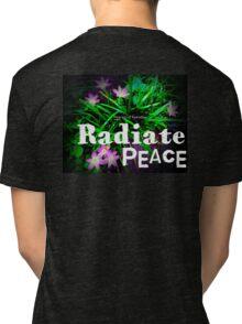 Radiate Peace Lilies Tri-blend T-Shirt