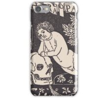 Old print 1887 9864 iPhone Case/Skin