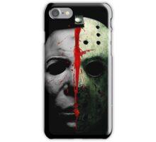 HORROR DOUBLE TEAM iPhone Case/Skin