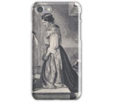 Old print 1887 9866 iPhone Case/Skin