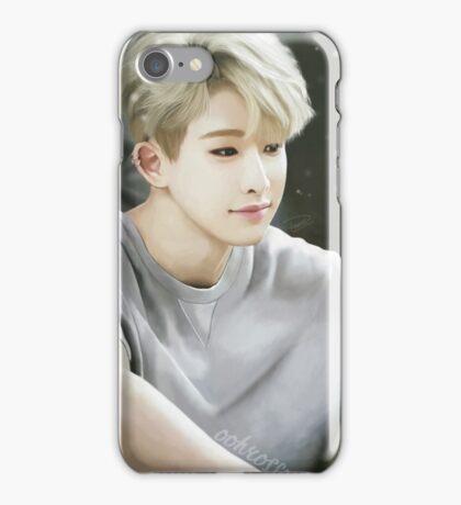 Blonde Wonho iPhone Case/Skin
