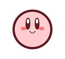 Kirby from Kirby: Canvas Curse Photographic Print