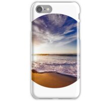 Vacation Beach Horizon iPhone Case/Skin