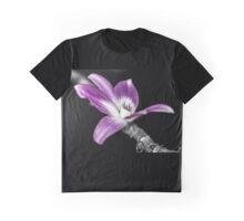 Misc. Flower Purple Graphic T-Shirt
