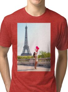 balloons in paris Tri-blend T-Shirt