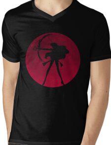Planet Mars Mens V-Neck T-Shirt
