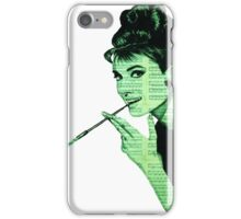 Audrey Hepburn an03 iPhone Case/Skin